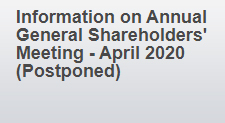 Information on Annual General Shareholders' Meeting - April 2020 (Postponed)