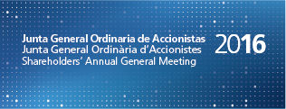 Junta General Ordinaria de Accionistas 2016