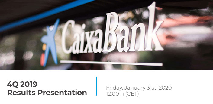 4Q 2019 Results Presentation. Friday, January 31st, 2020 12:00h (CET)