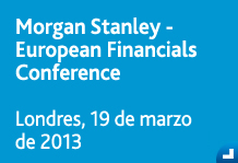 Morgan Stanley - European Financials Conference