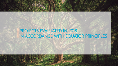 Projects Evaluated in 2018 in Accordance with Equator Principles
