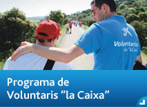 "Programa de Voluntaris ""la Caixa"""