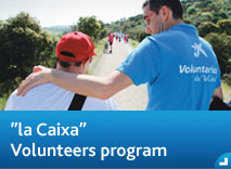 """la Caixa"" Volunteers program"