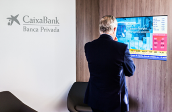 CaixaBank Private Bank provides its customers with a specialist service.