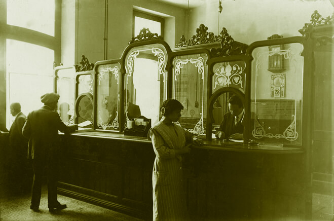 Employees serving the public in one of the organisation