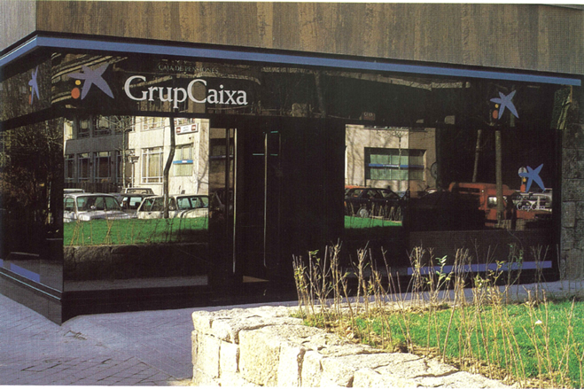 GrupCaixa Offices.