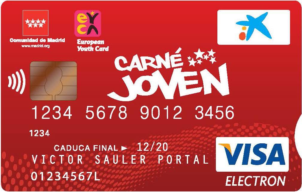 Caixabank Emitirá El Nuevo Carné Joven De La Comunidad De Madrid