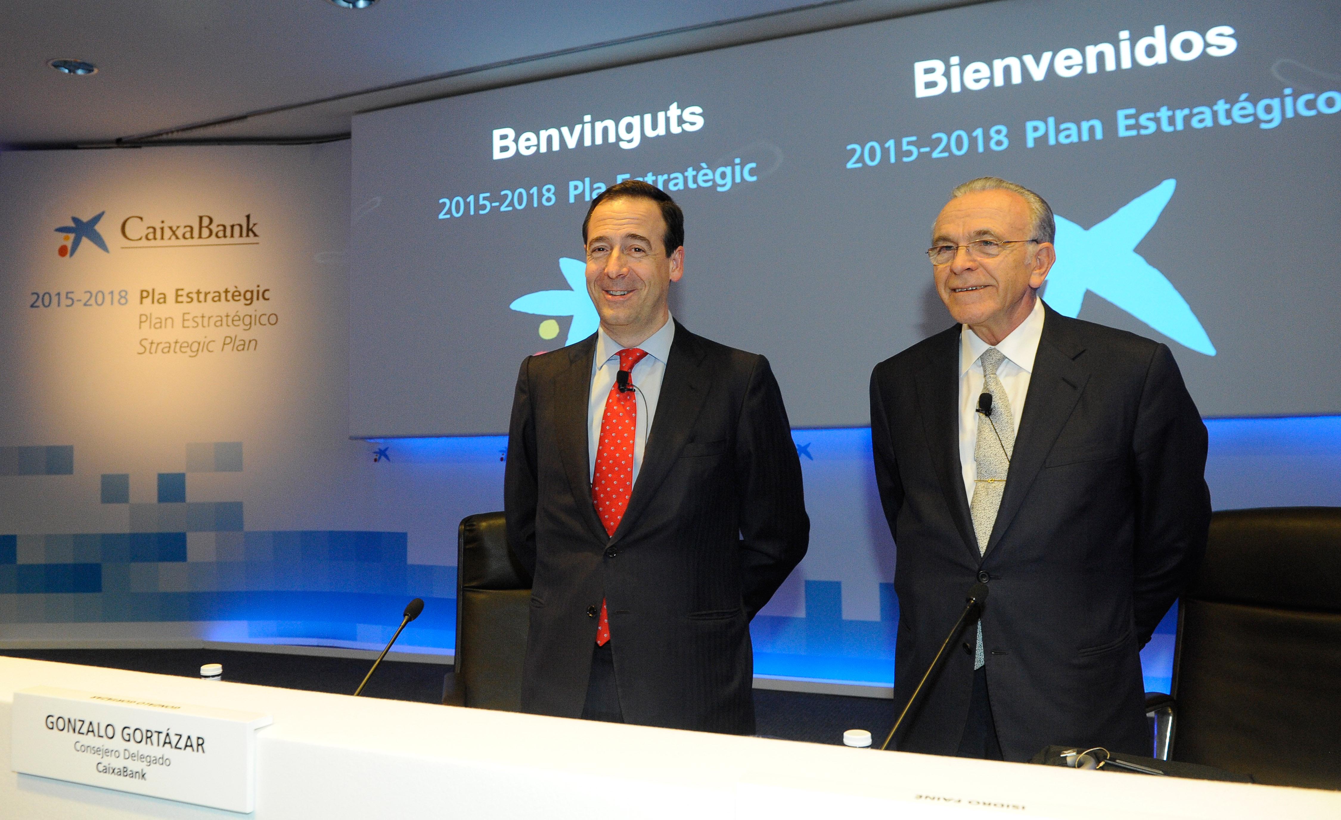 El nuevo plan estrat gico 2015 2018 de caixabank prev una for Oficinas barclays valencia