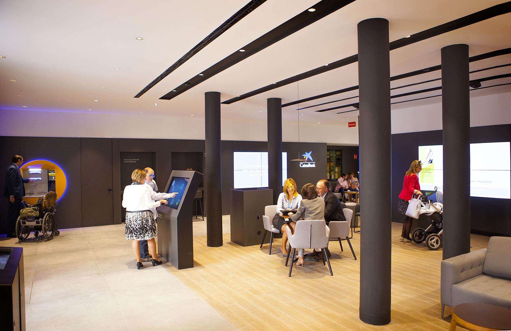 Caixabank abrir en albacete una oficina de su nuevo for Oficinas la caixa zaragoza