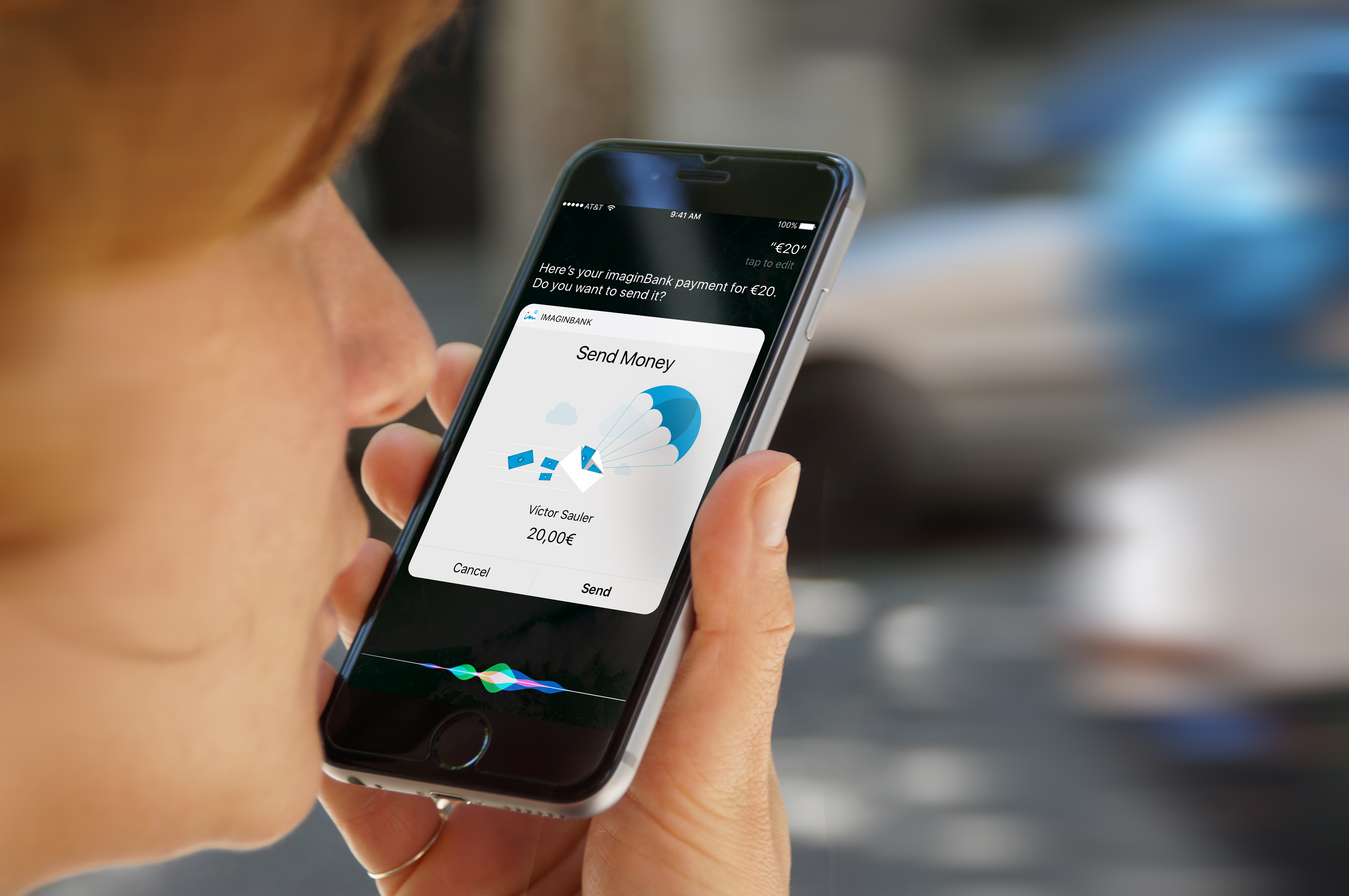Caixabank Launches A Money Transfer Service For Iphones Using Siri Wiring To China Voice Commands