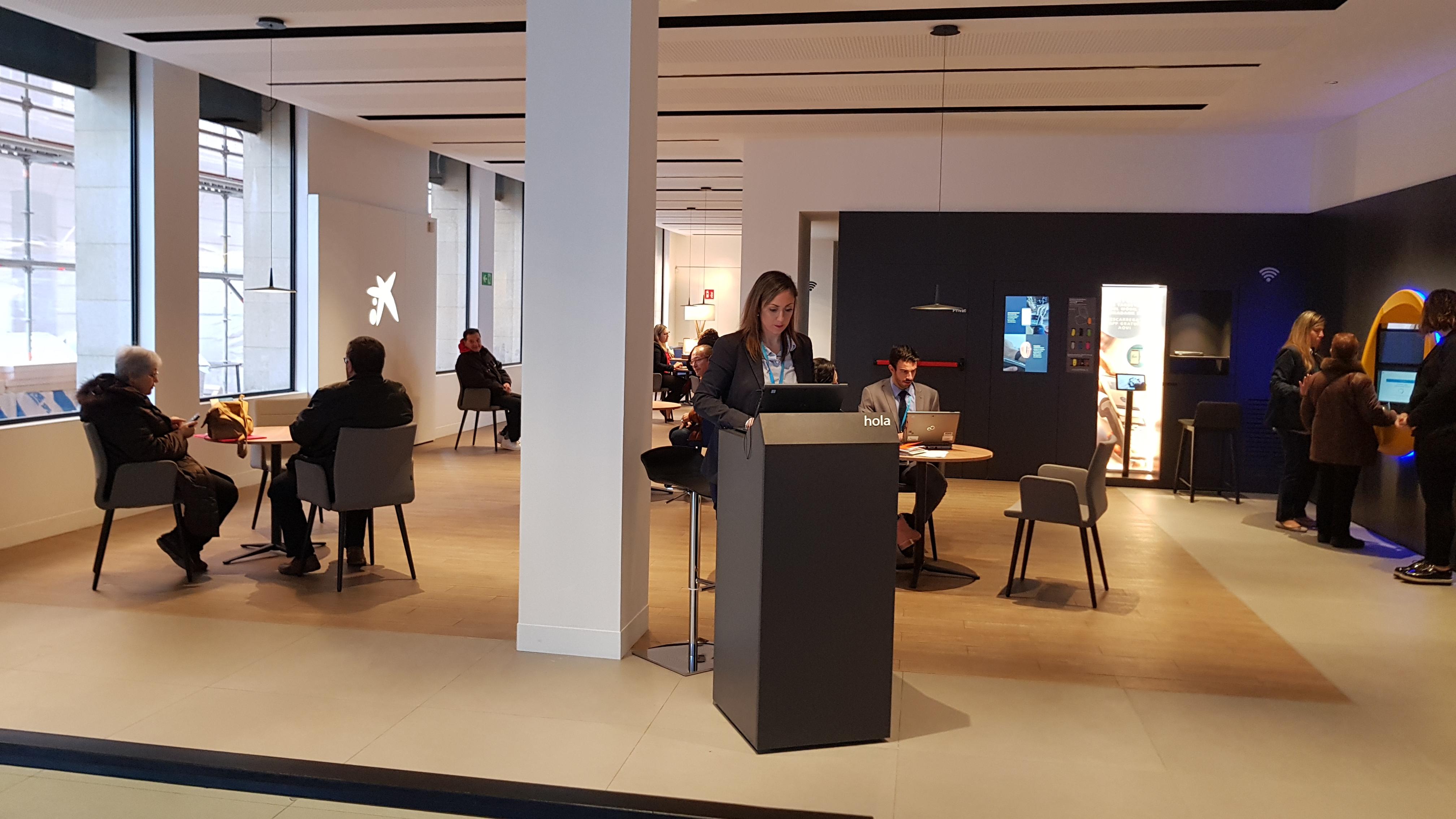 caixabank ha inaugurado la oficina de nuevo modelo store