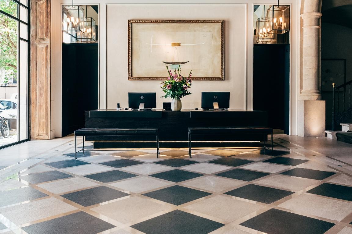 Recépción Hotel Sant Francesc, financiado por Hotels & Tourism